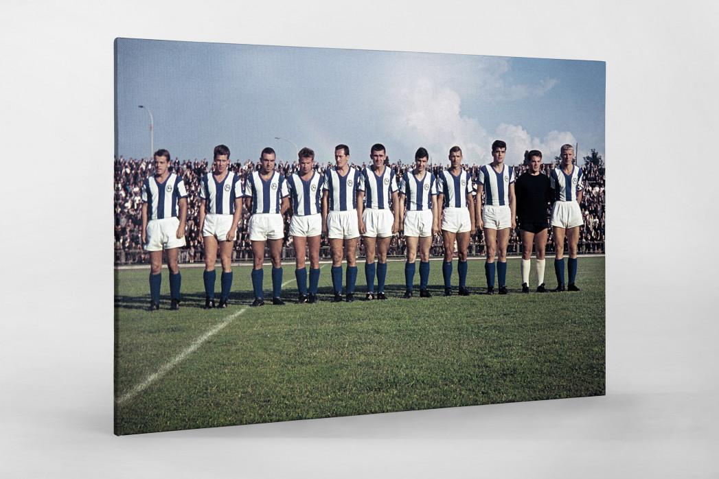 Bielefeld 1964 als Leinwand auf Keilrahmen gezogen