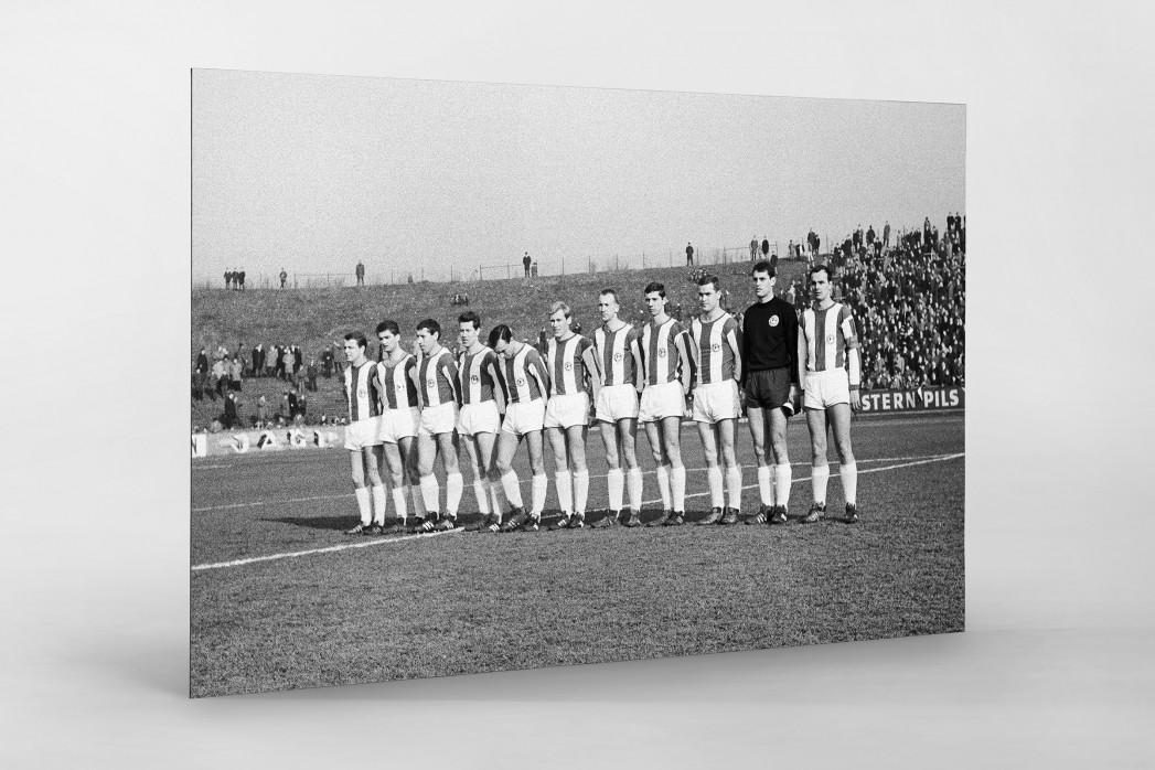 Bielefeld 1967 als auf Alu-Dibond kaschierter Fotoabzug