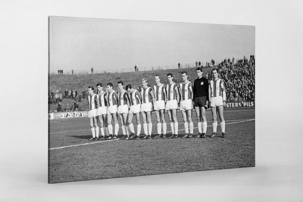 Bielefeld 1967 als Leinwand auf Keilrahmen gezogen