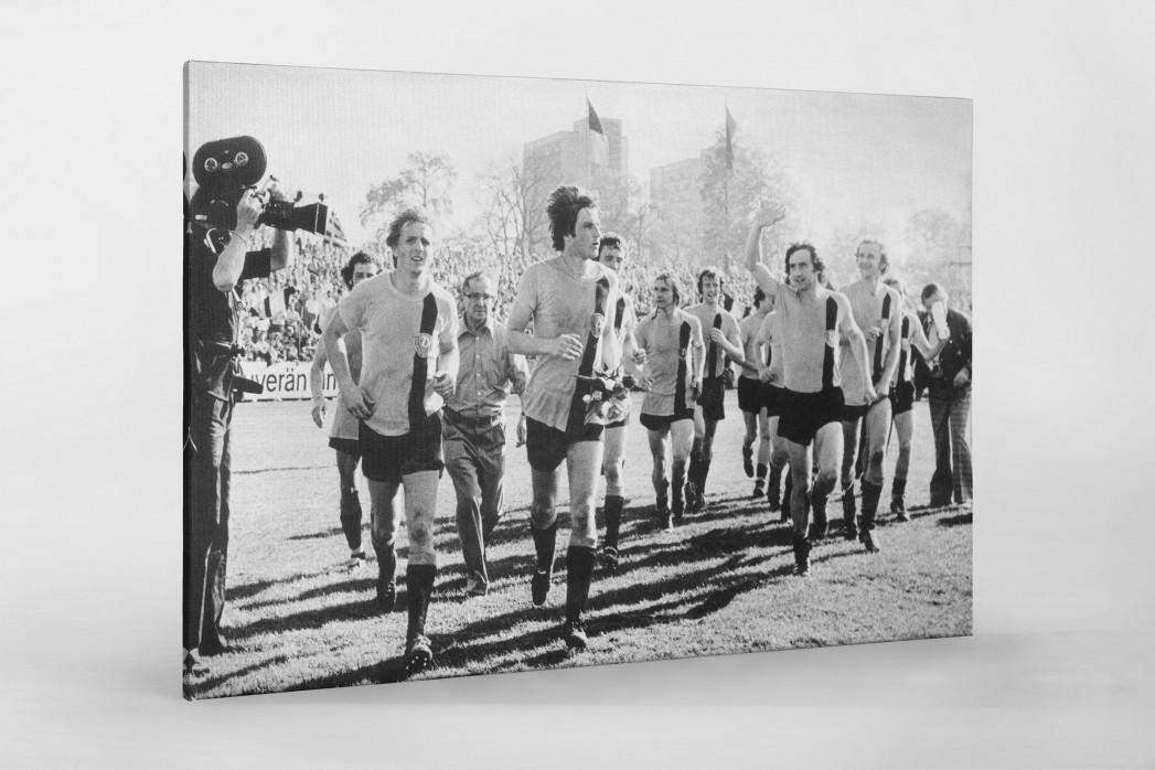 Dresdens Meister 1976 als Leinwand auf Keilrahmen gezogen