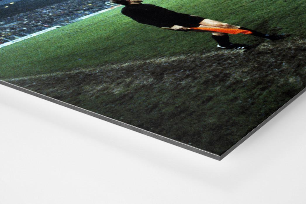Flutlicht im Ruhrstadion als auf Alu-Dibond kaschierter Fotoabzug (Detail)