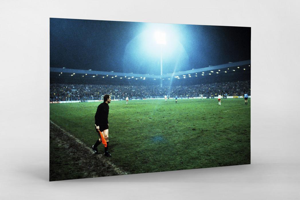 Flutlicht im Ruhrstadion als auf Alu-Dibond kaschierter Fotoabzug