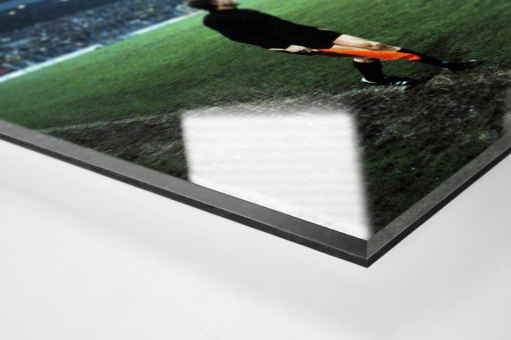 Flutlicht im Ruhrstadion als Direktdruck auf Alu-Dibond hinter Acrylglas (Detail)