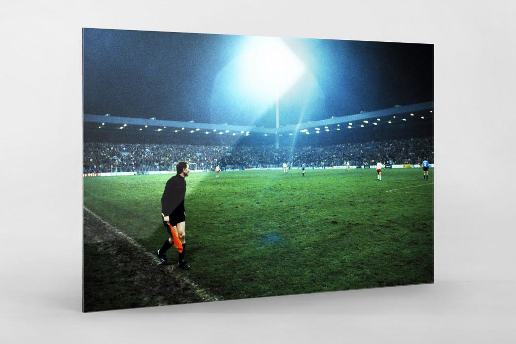 Flutlicht im Ruhrstadion als Direktdruck auf Alu-Dibond hinter Acrylglas