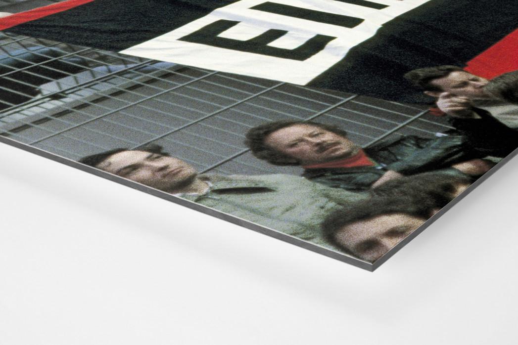 Frankfurt Fans 1980 als auf Alu-Dibond kaschierter Fotoabzug (Detail)