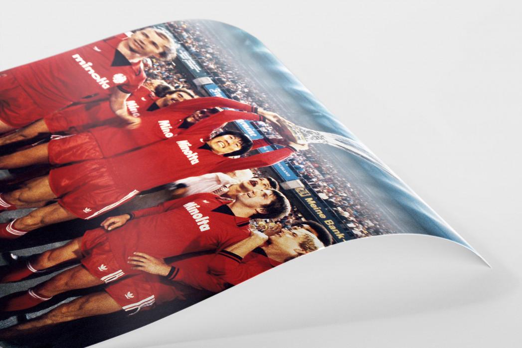 Frankfurter Europapokaljubel als FineArt-Print