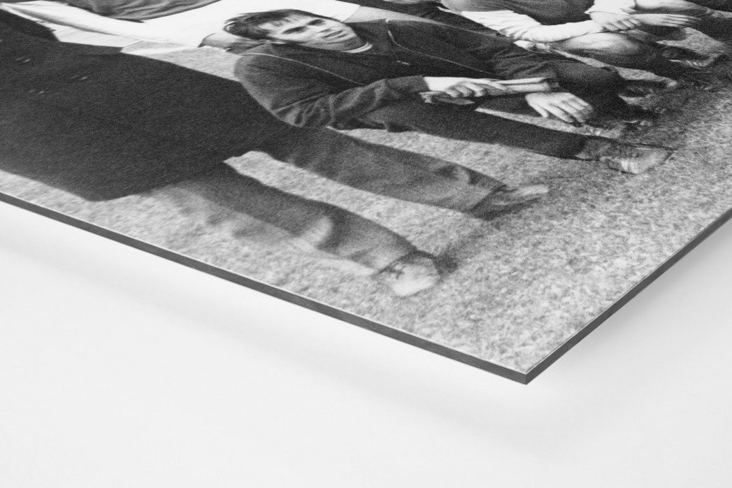 Jena FDGB-Pokalsieger 1972 als auf Alu-Dibond kaschierter Fotoabzug (Detail)