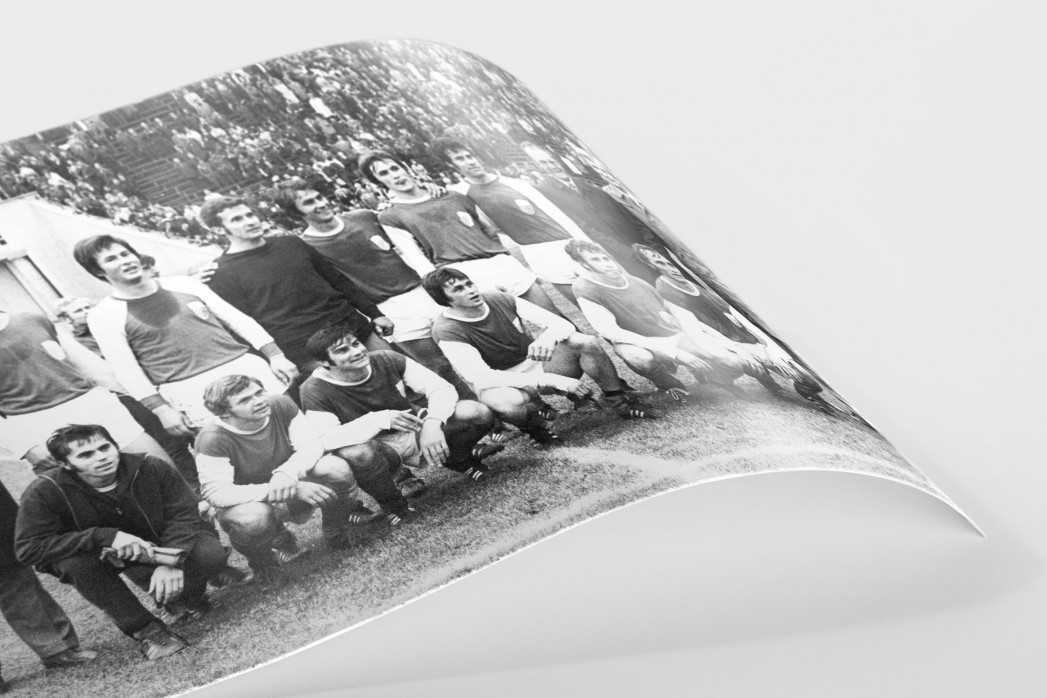Jena FDGB-Pokalsieger 1972 als FineArt-Print
