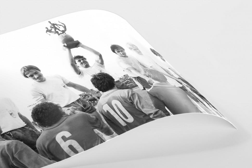 Jena FDGB-Pokalsieger 1980 als FineArt-Print