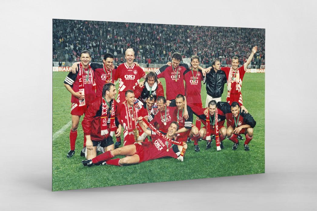 Lauterer Pokaljubel 1996 als auf Alu-Dibond kaschierter Fotoabzug