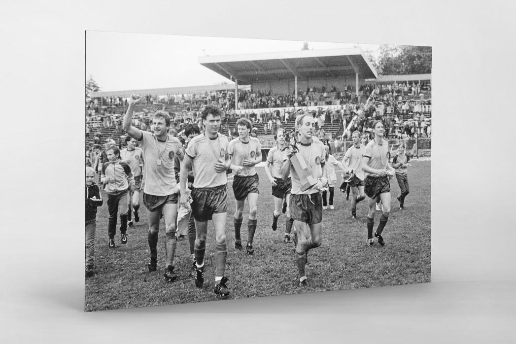 Lok FDGB-Pokalsieger 1986 als auf Alu-Dibond kaschierter Fotoabzug