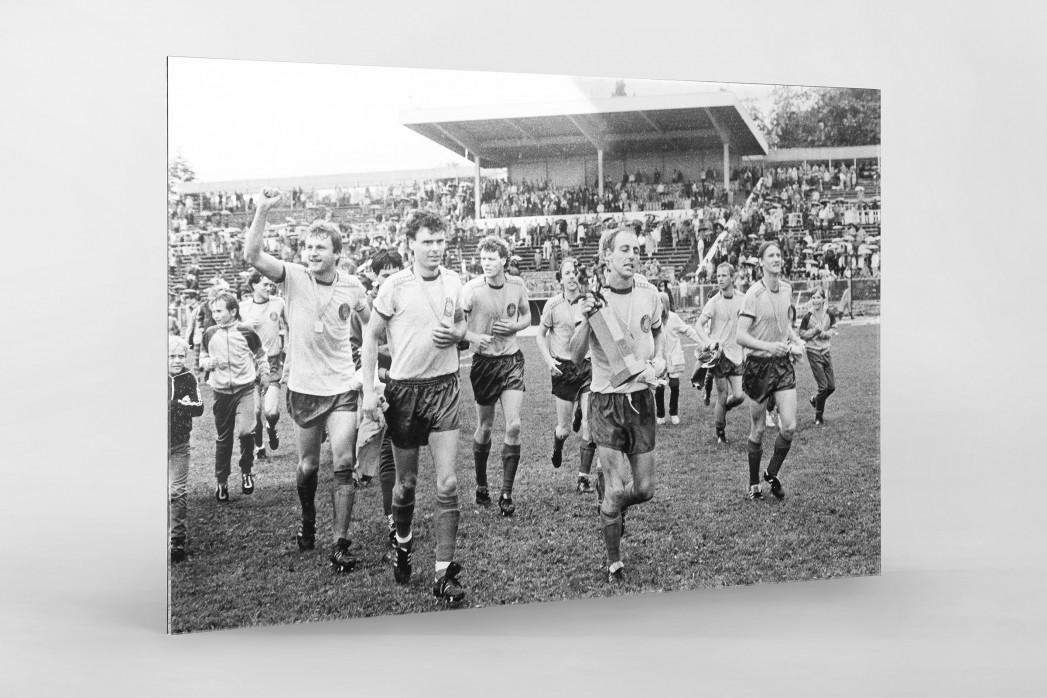 Lok FDGB-Pokalsieger 1986 als Direktdruck auf Alu-Dibond hinter Acrylglas