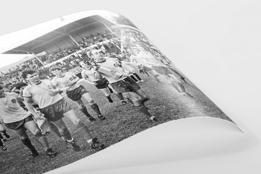 Lok FDGB-Pokalsieger 1986 als FineArt-Print