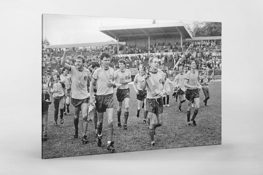 Lok FDGB-Pokalsieger 1986 als Leinwand auf Keilrahmen gezogen