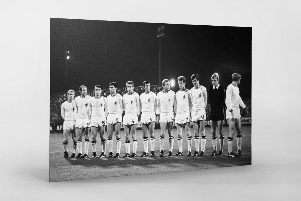 Mönchengladbach 1969 als auf Alu-Dibond kaschierter Fotoabzug