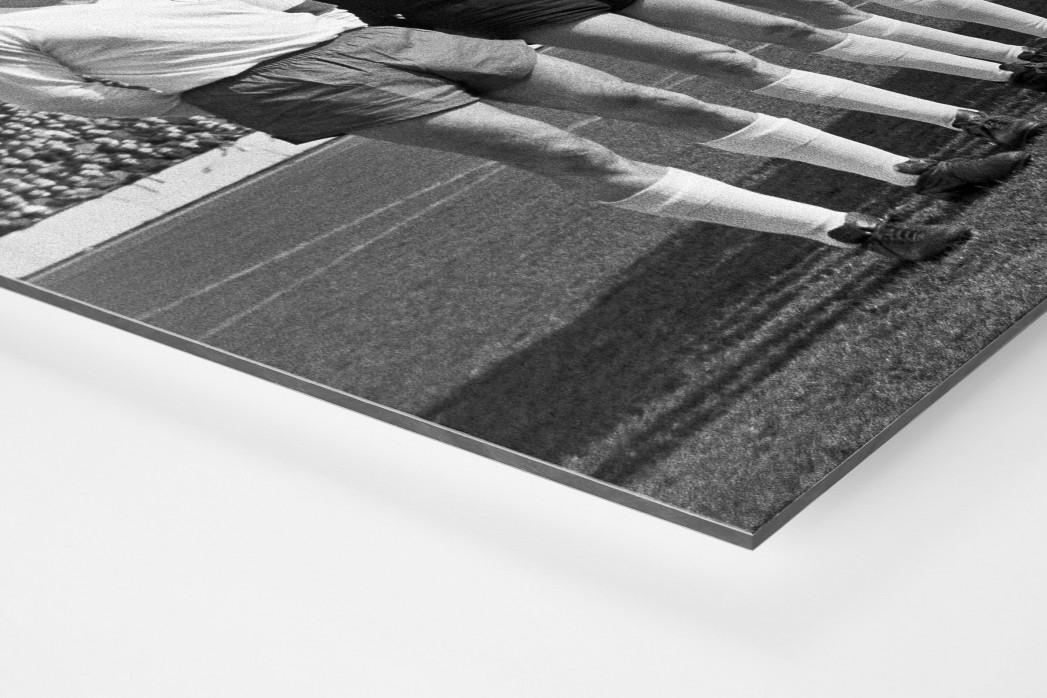 Oberhausen 1967 als auf Alu-Dibond kaschierter Fotoabzug (Detail)