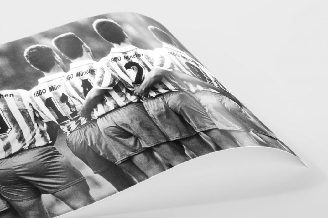 Rücken der Löwen als FineArt-Print