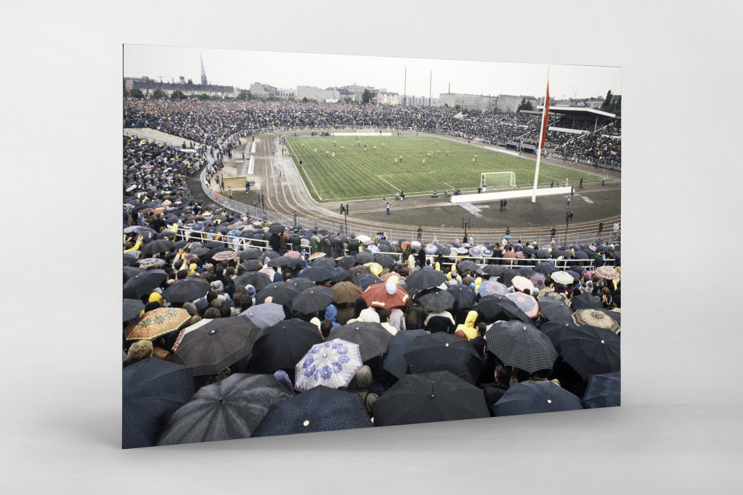 Stadion der Weltjugend als auf Alu-Dibond kaschierter Fotoabzug