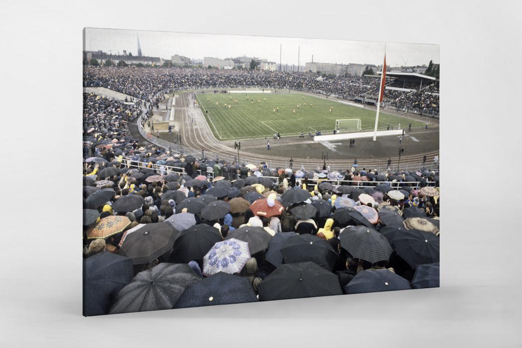 Stadion der Weltjugend als Leinwand auf Keilrahmen gezogen