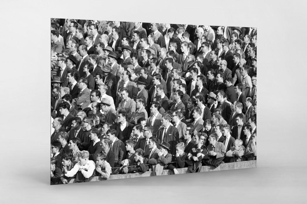 Zuschauer 1963 als auf Alu-Dibond kaschierter Fotoabzug
