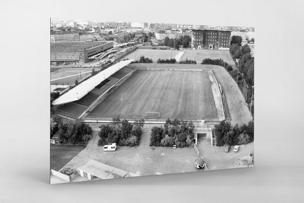 Wilhelm-Koch-Stadion als auf Alu-Dibond kaschierter Fotoabzug