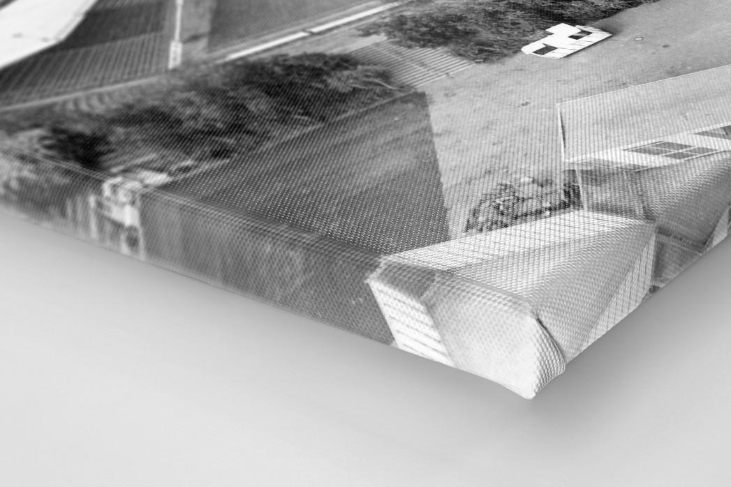 Wilhelm-Koch-Stadion als Leinwand auf Keilrahmen gezogen (Detail)