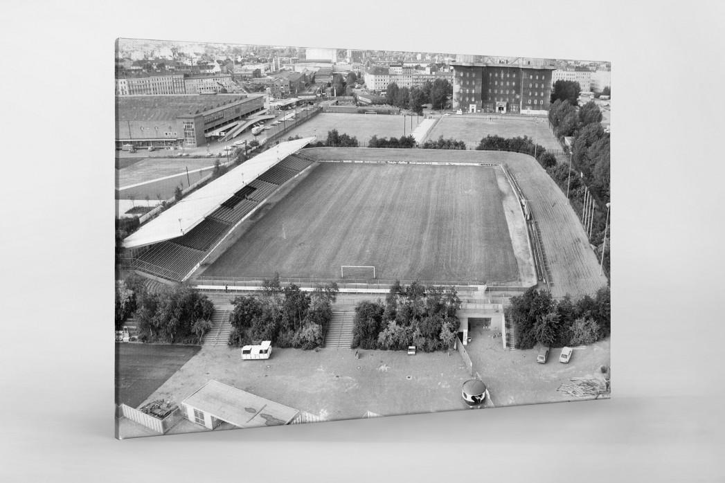 Wilhelm-Koch-Stadion als Leinwand auf Keilrahmen gezogen