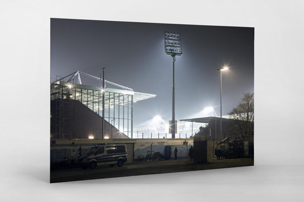 Millerntor bei Flutlicht (Farbe-1) als auf Alu-Dibond kaschierter Fotoabzug