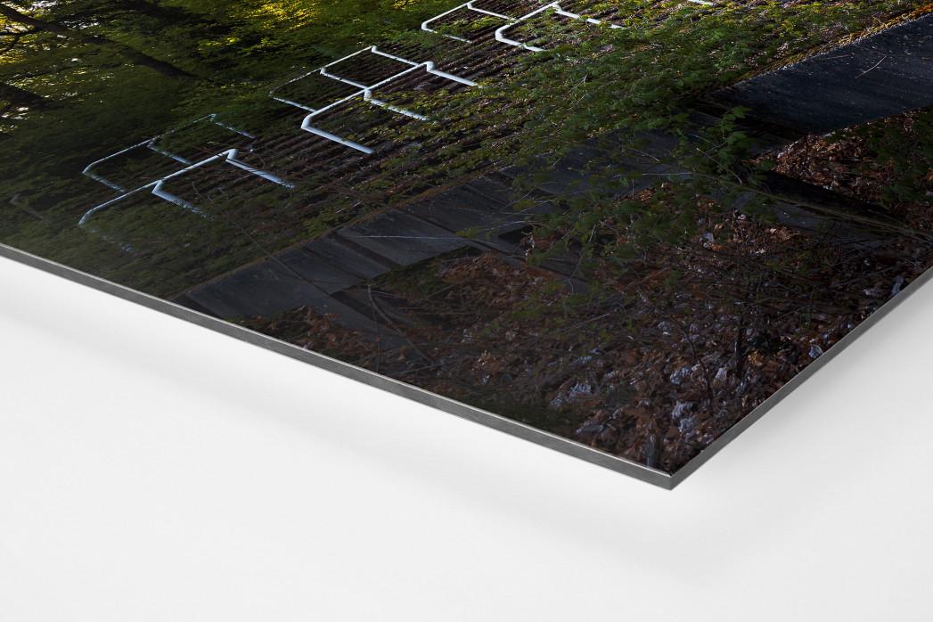 Verlassene Stadien - Marl (2) als auf Alu-Dibond kaschierter Fotoabzug (Detail)