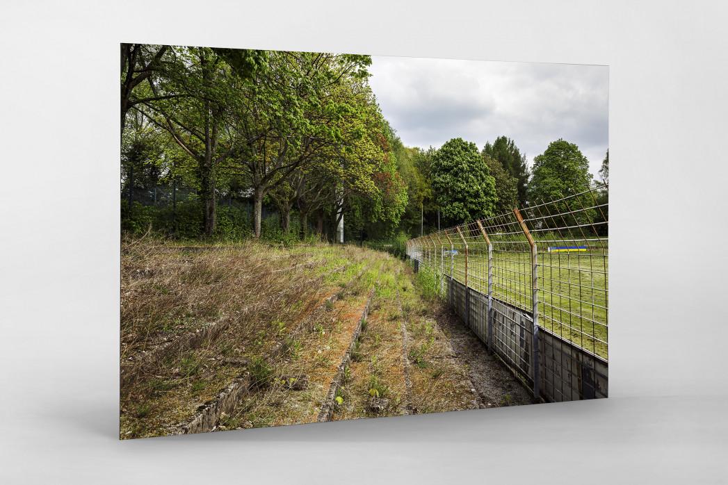 Verlassene Stadien - Solingen (2) als auf Alu-Dibond kaschierter Fotoabzug
