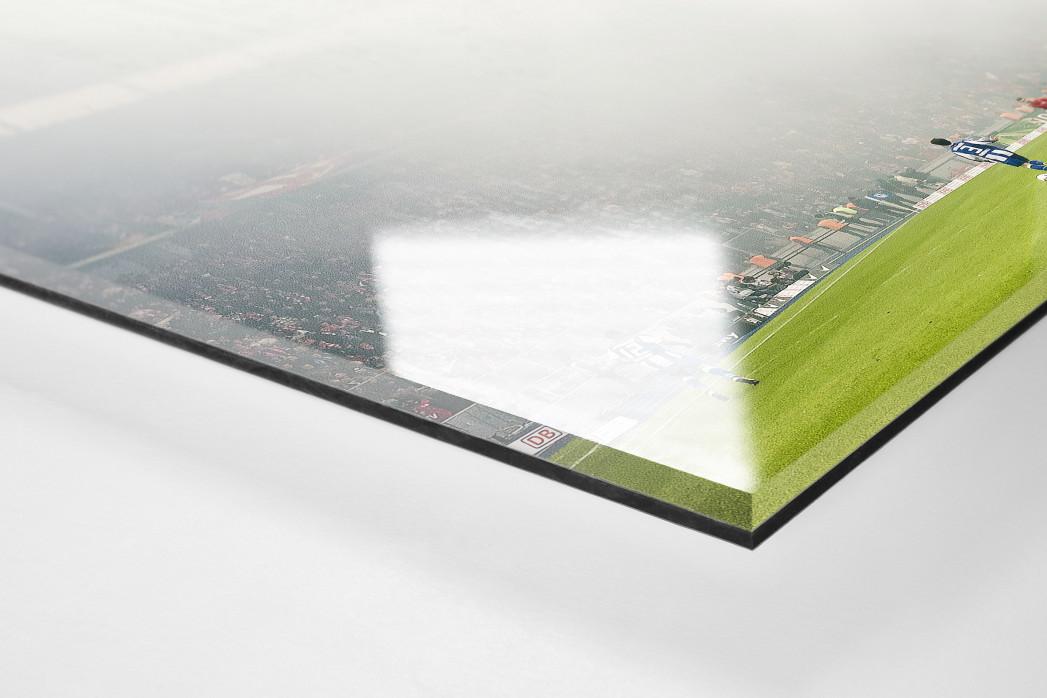 Berliner Nebel als Direktdruck auf Alu-Dibond hinter Acrylglas (Detail)