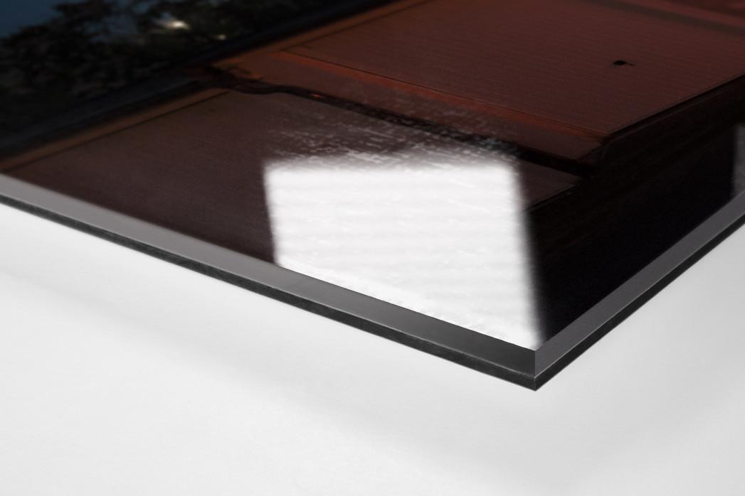 Flutlicht am Bölle als Direktdruck auf Alu-Dibond hinter Acrylglas (Detail)