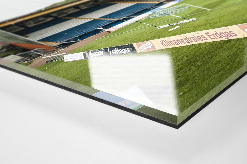 Leeres Bölle als Direktdruck auf Alu-Dibond hinter Acrylglas (Detail)
