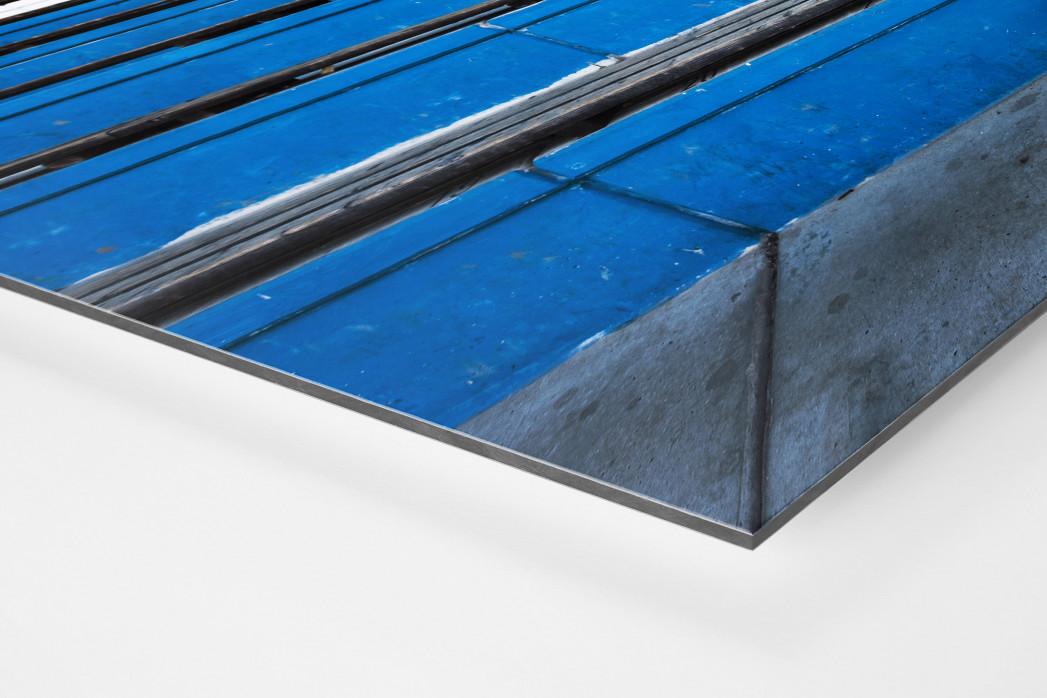 Tribüne Bölle (1) als auf Alu-Dibond kaschierter Fotoabzug (Detail)