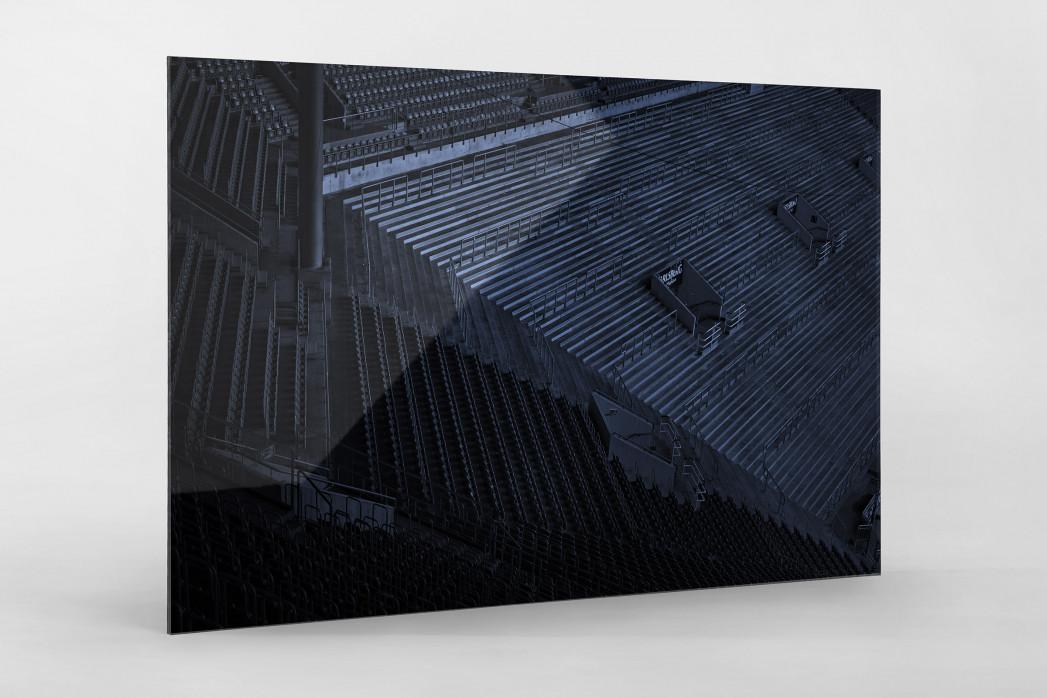 Stadien bei Nacht - Betzenberg (2) als Direktdruck auf Alu-Dibond hinter Acrylglas