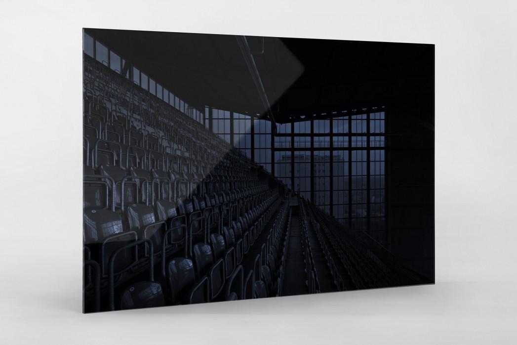 Stadien bei Nacht - Betzenberg (3) als Direktdruck auf Alu-Dibond hinter Acrylglas