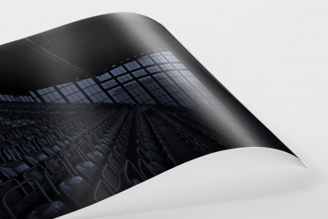 Stadien bei Nacht - Betzenberg (3) als FineArt-Print