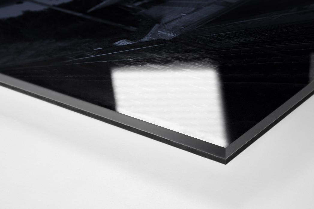 Stadien bei Nacht - Alte Försterei (1) als Direktdruck auf Alu-Dibond hinter Acrylglas (Detail)