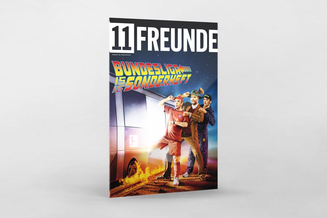 Covermotiv: 11FREUNDE - Bundesliga-Sonderheft 2015/16 als Direktdruck auf Alu-Dibond hinter Acrylglas