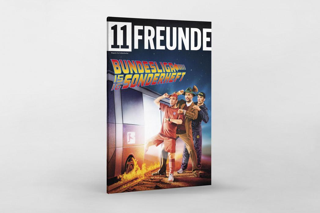 Covermotiv: 11FREUNDE - Bundesliga-Sonderheft 2015/16 als Leinwand auf Keilrahmen gezogen