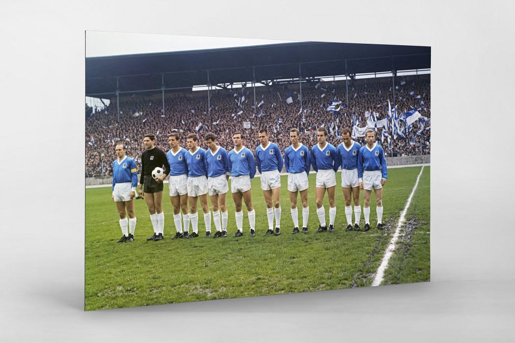 1860 München 1966 (2) als auf Alu-Dibond kaschierter Fotoabzug