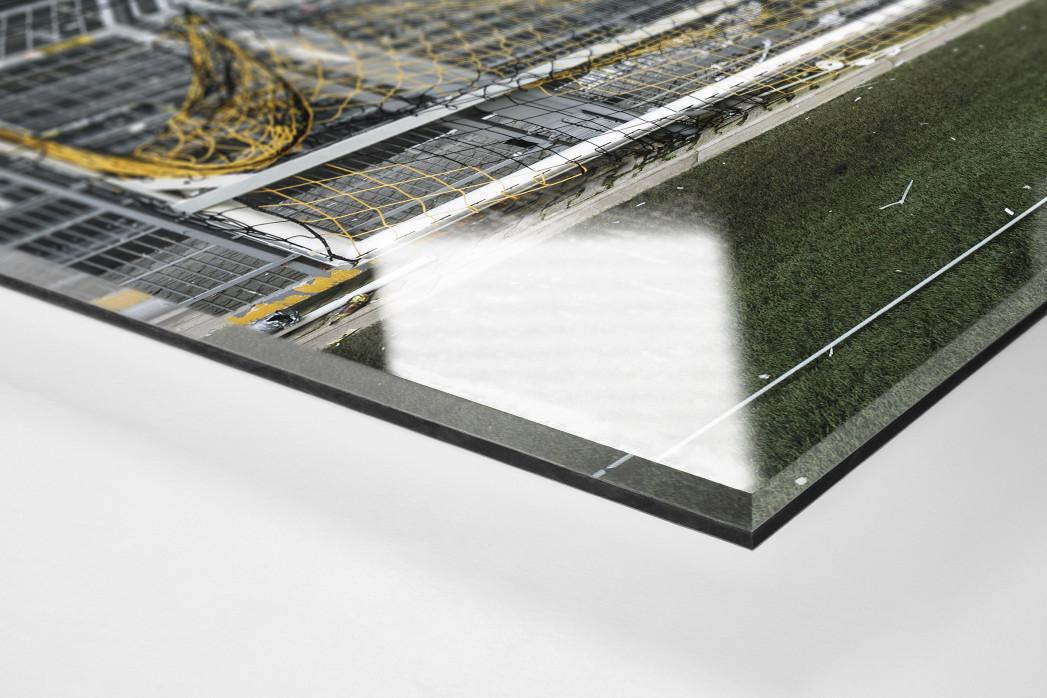 Leere Süd und Tor als Direktdruck auf Alu-Dibond hinter Acrylglas (Detail)