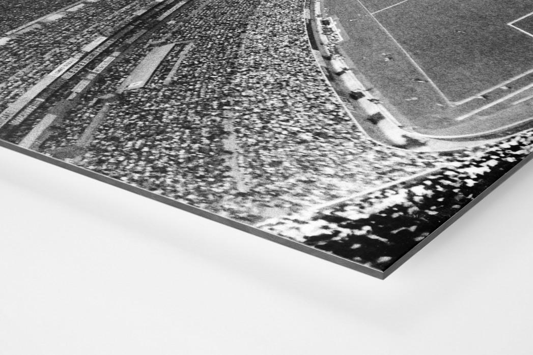 Aztekenstadion 1970 als auf Alu-Dibond kaschierter Fotoabzug (Detail)