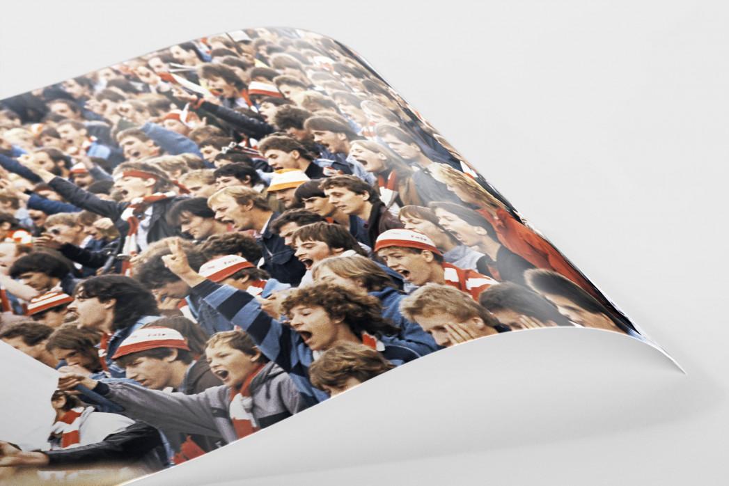 Union Fans als FineArt-Print