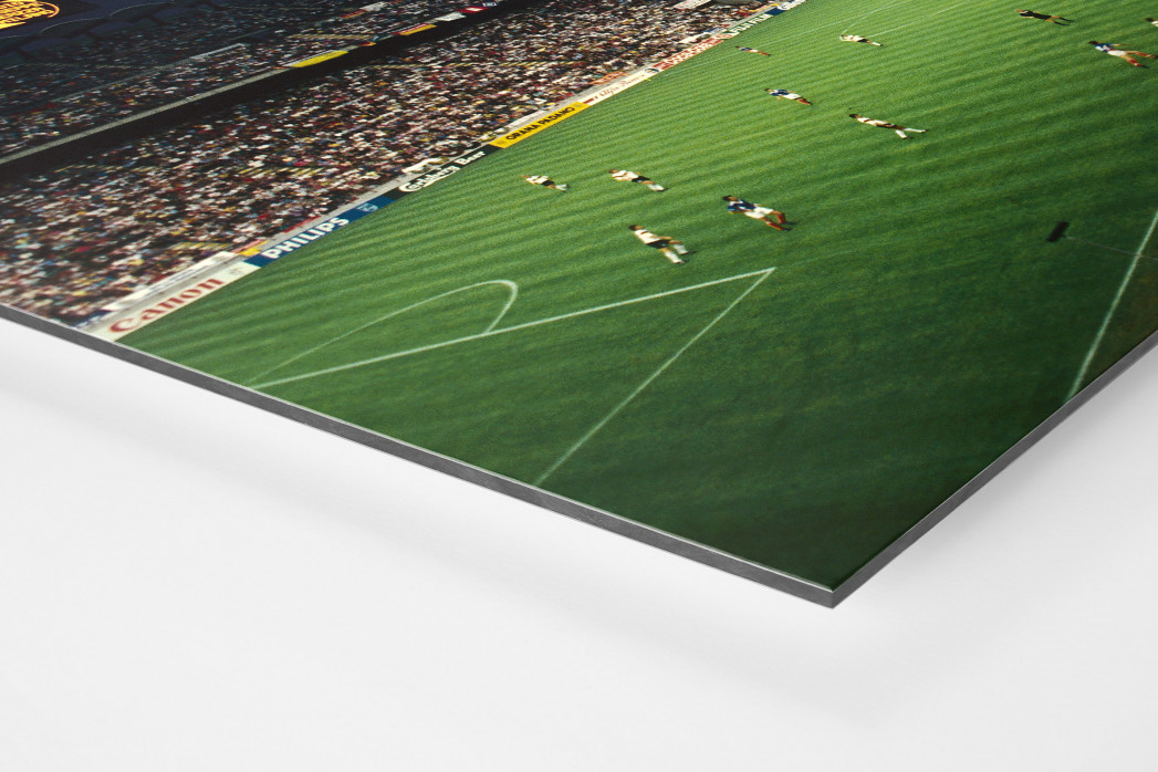 Giuseppe Meazza Stadion als auf Alu-Dibond kaschierter Fotoabzug (Detail)