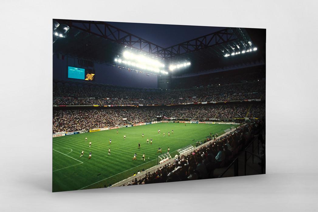 Giuseppe Meazza Stadion als auf Alu-Dibond kaschierter Fotoabzug