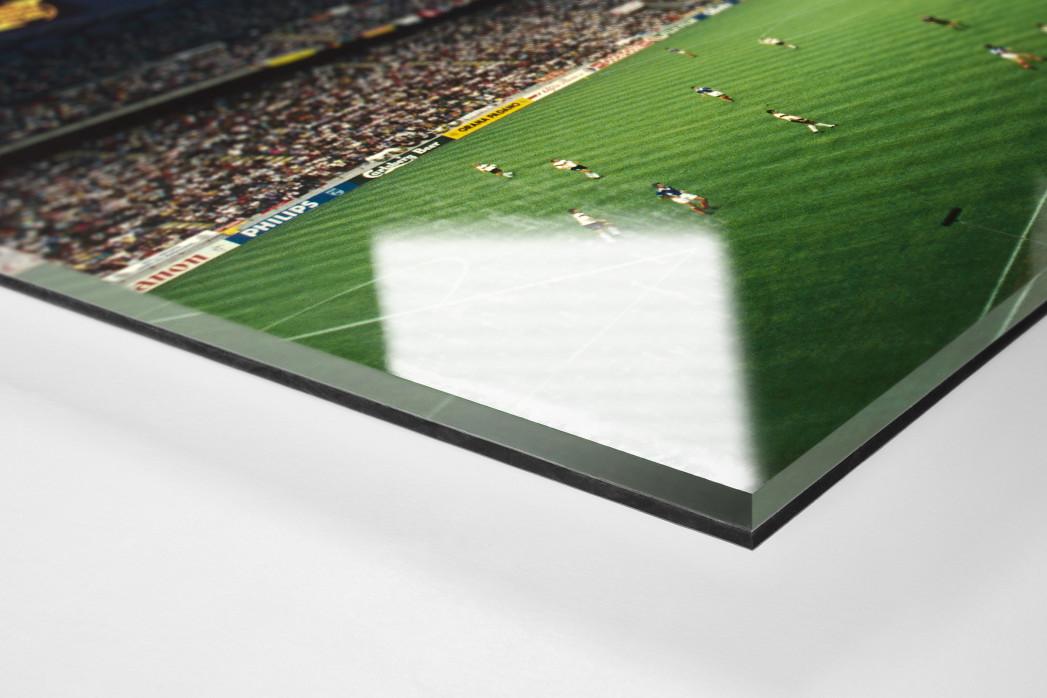Giuseppe Meazza Stadion als Direktdruck auf Alu-Dibond hinter Acrylglas (Detail)