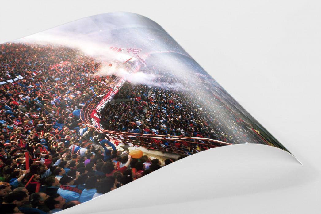 Fankurve im Giuseppe Meazza Stadion als FineArt-Print