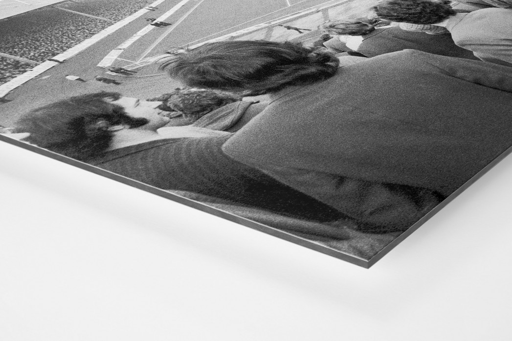 Im Ibrox Park als auf Alu-Dibond kaschierter Fotoabzug (Detail)