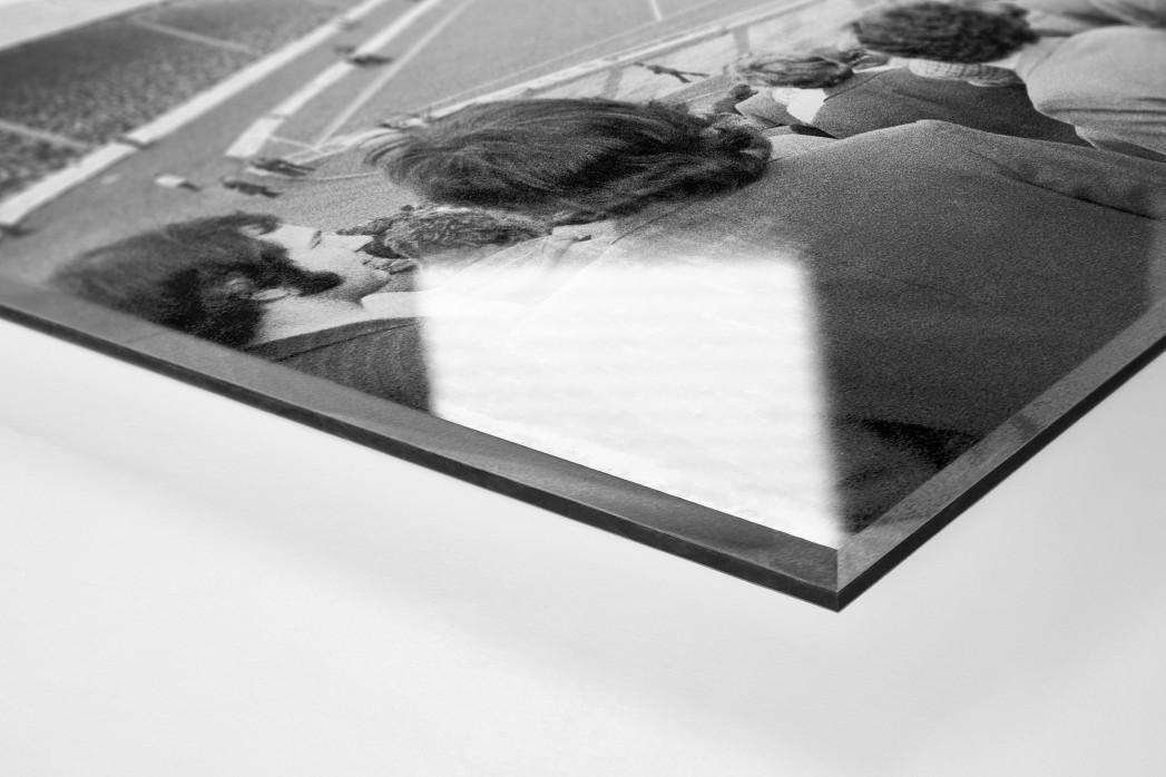 Im Ibrox Park als Direktdruck auf Alu-Dibond hinter Acrylglas (Detail)
